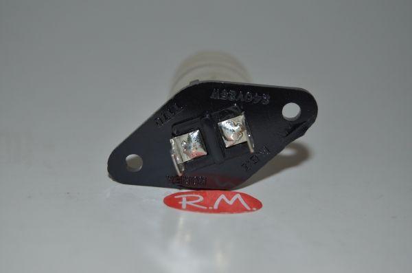 Bombilla microondas a terminales 25W Ø25 x 75 mm