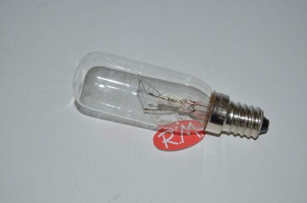 Bombilla tubular campana E14 40 w 220v Ø25 x 65 mm