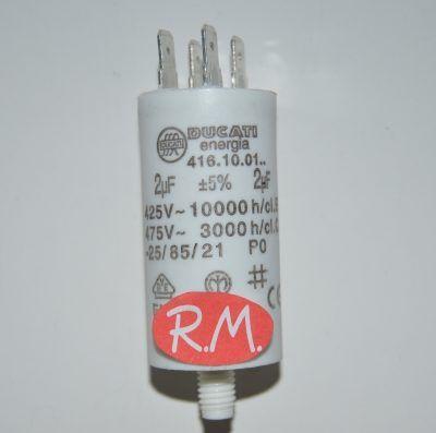 Condensador de trabajo 2uf 450 V
