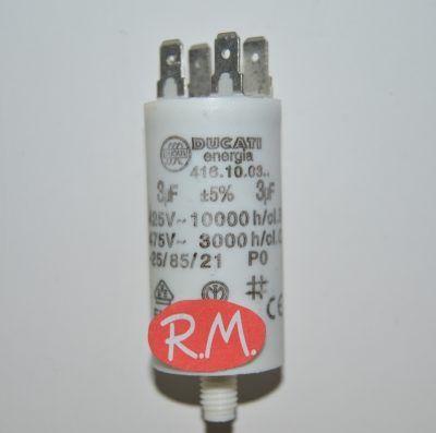 Condensador de trabajo 3uf 450 V