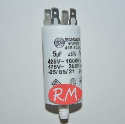 Condensador de trabajo 5uf 450 V
