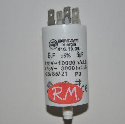 Condensador de trabajo 6uf 450 V