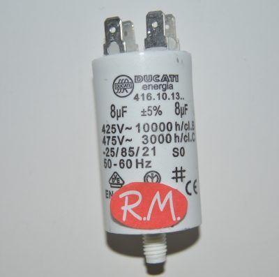 Condensador de trabajo 8uf 450 V