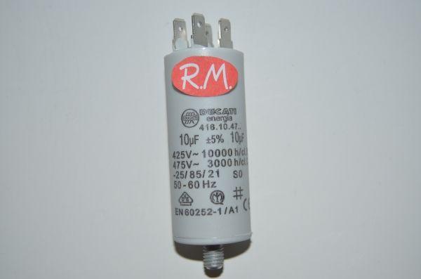 Condensador de trabajo 10uf 450 V