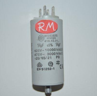Condensador de trabajo 14uf 450 V