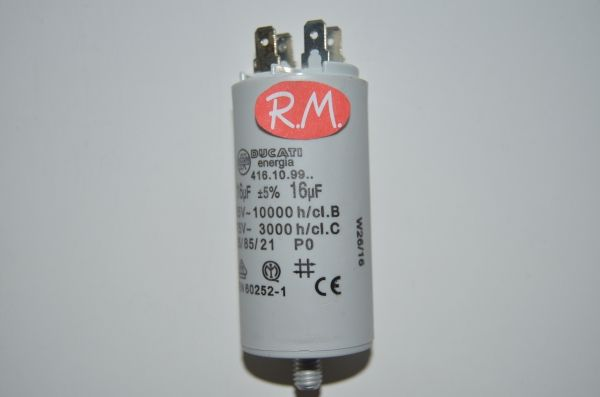 Condensador de trabajo 16uf 450 V