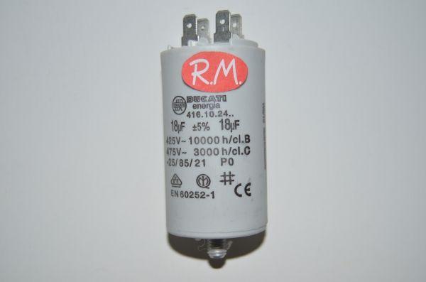Condensador de trabajo 18uf 450 V