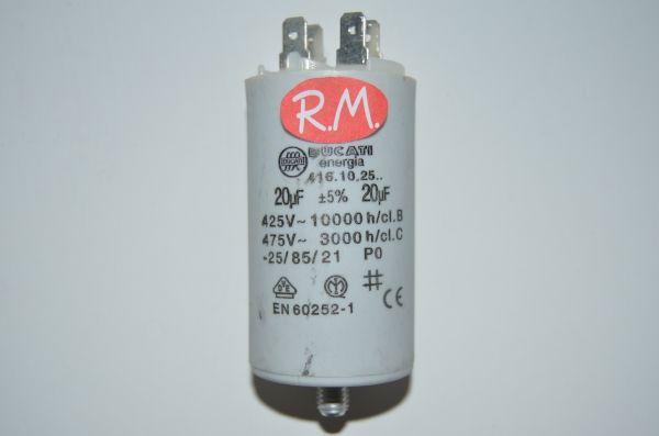 Condensador de trabajo 20uf 450 V