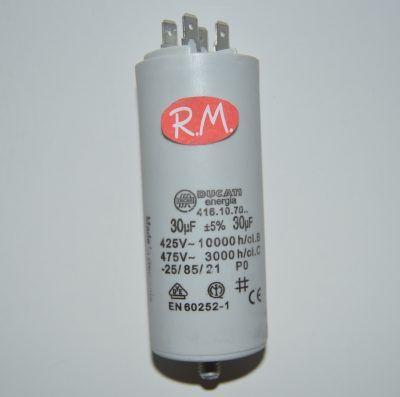 Condensador de trabajo 30 uf 450 V