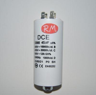 Condensador de trabajo 45uf 450 V