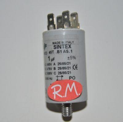 Condensador de trabajo 1uf 450 V