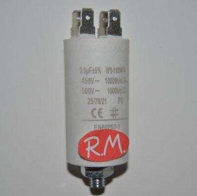 Condensador de trabajo 3,5uf 450 V