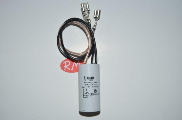 Filtro antiparasitario 0,01 uf con cable
