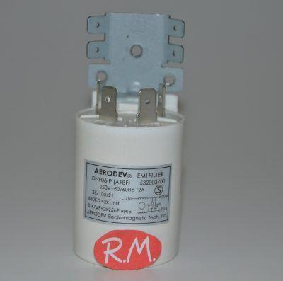 Condensador antiparasitario 0,47 uf con soporte