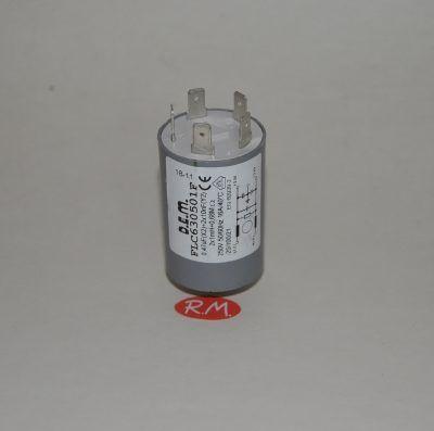 Condensador antiparasitario 0,47 uf con tornillo
