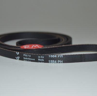 Correa secadora 1884 H5 Zanussi 1255028100 TD245