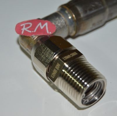 Tubo gas natural presinox M - M 1/2 1500 mm