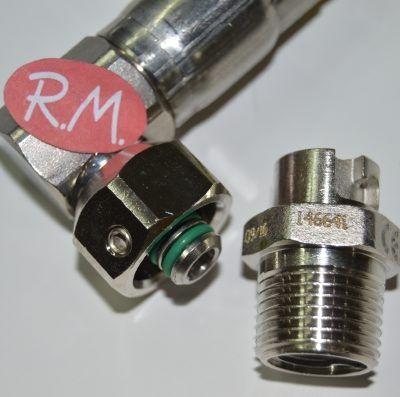 Tubo gas natural presinox M - M 1 / 2 1500 mm