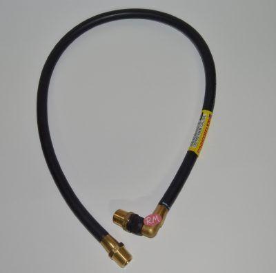Tubo gas natural espirometálico M 1 / 2 1000 mm