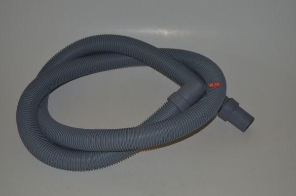 Tubo desagüe lavavasos de bar 2 bocas 180° Ø 35 mm Ø 32 mm 2 metros
