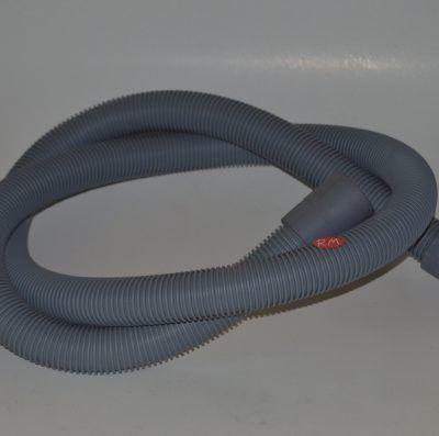 Tubo desagüe lavavasos de bar 2 bocas 180° Ø 40 mm Ø 32 mm 2 metros