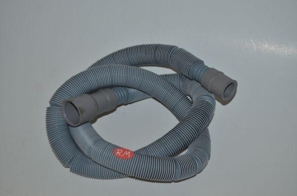 Tubo desagüe lavadora 2 bocas extensible de 1,2 a 4 metros