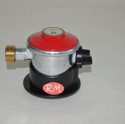 Regulador gas salida libre tapón rojo