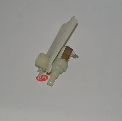 Electroválvula 1 vía lavavajillas Bosch salida 90° anclaje especial