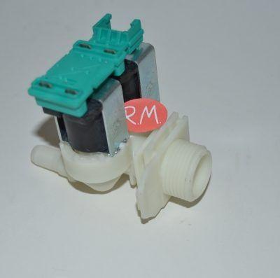 Electroválvula 2 vías lavadora Bosch salida 180° 428210