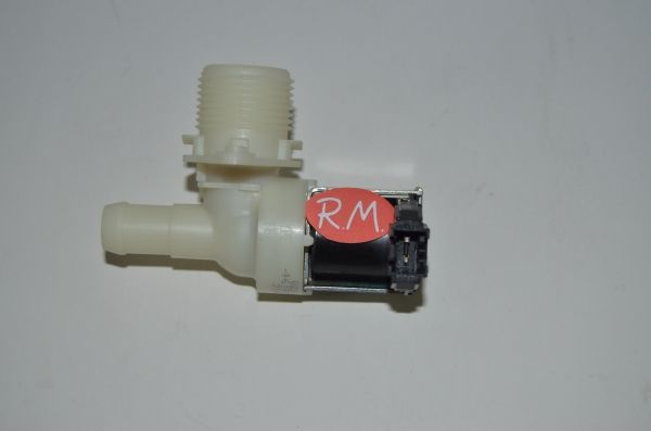 Electroválvula 1 vía Whirlpool salida 90° 481227128375