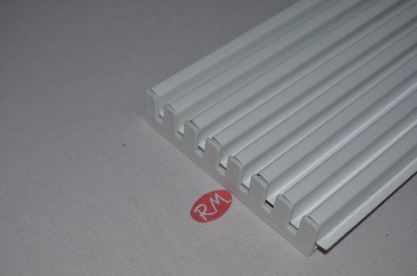 Rejilla ventilación horno blanca 60 x 12 cm