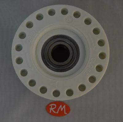 Portarodamiento izquierdo lavadora carga superior Zanussi 4071430963