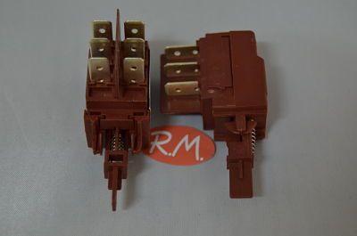 Interruptor bipolar lavadora New Pol 522004600