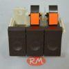 Características: También llamado botonera - tecladora - interruptor on off - paro marcha - pulsador Anclaje a tornillos y separados 41 mm 6 terminales faston macho de 6,3 mm en cada botonera Código original: Whirlpool 481927638026 Código artículo: 2703480203 Marca y modelos: PHILIPS AWB921