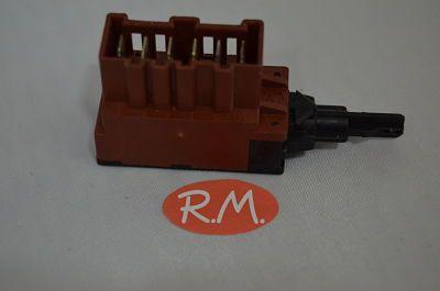 Interruptor lavadora Zanussi 6 contactos