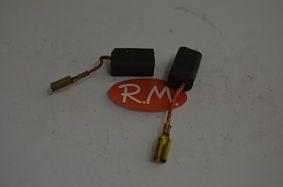 Kit escobillas B&D 13,5 x 8 x 6,3 mm taladro 0222 - 1222