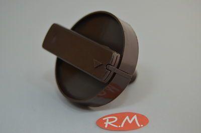 Mando programador New Pol serie 3000 eje largo color marrón