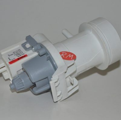 Bomba desagüe lavadora AEG con filtro 8996454307803