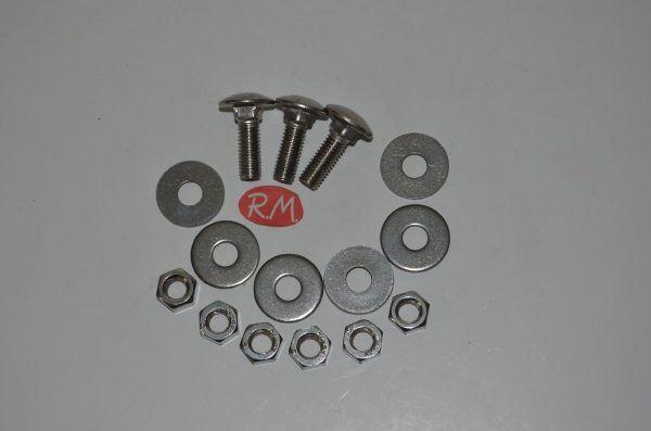 Kit 3 tornillos inoxidable cruceta bombo lavadora Balay 059132