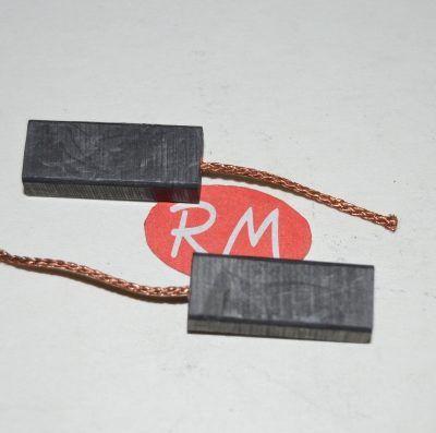 Escobillas de carbón motor lavadora Philco 6,4 x 10 x 25 mm