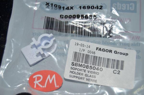 Soporte cristal puerta secadora Edesa SBM085040