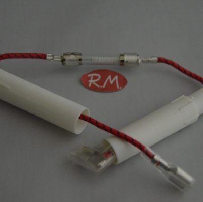 Fusible + Portafusible alto voltaje horno microondas 0,75A 5KV