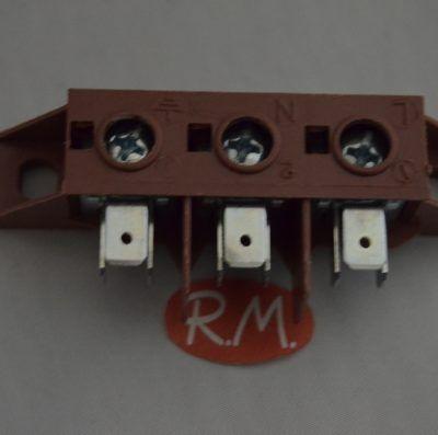 Regleta entrada corriente horno eléctrico Fagor CC1189700