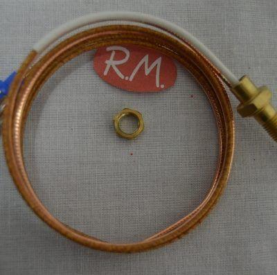 Termopar cocina Smeg 850mm. rosca Métrico 6