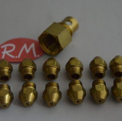 Conjunto inyectores a butano calentador Cointra 10 litros