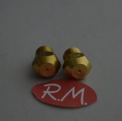Conjunto inyectores a butano horno Corbero HG5430 3422508097 + 3422508113