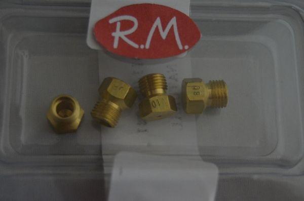Conjunto inyectores a gas butano encimera teka recambios mollet - Encimeras gas teka ...
