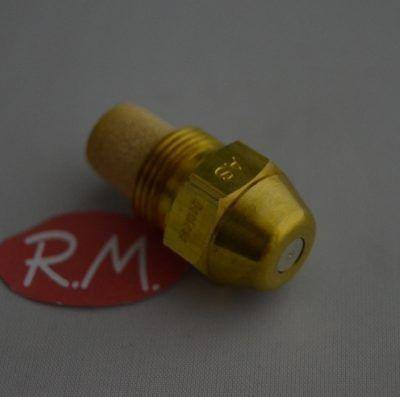 Boquilla pulverizadora quemador gas-oil 0,85gph 45°