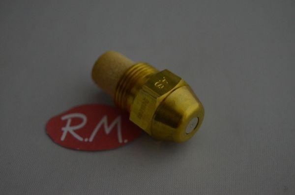 Boquilla pulverizadora quemador gas-oil 0,40gph 45°