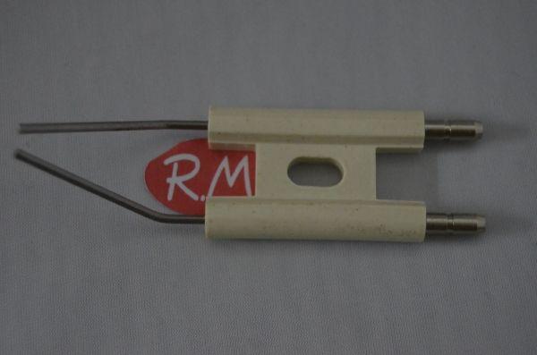 Electrodo caldera calefacción ACV doble 4 mm